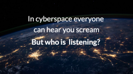 cyberspace scream